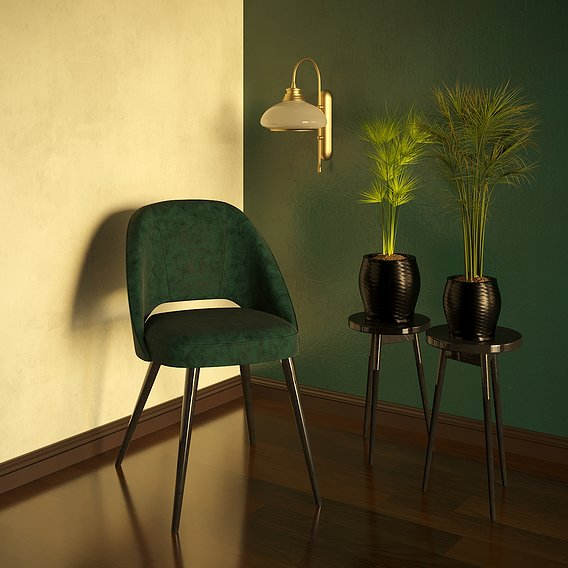 Render's of chair