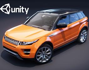 3D asset Realistic Car HD 01