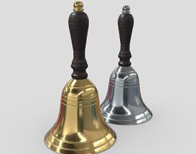 3D model game-ready Handbell