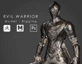 Evil Warrior - Ready to Game 3D asset