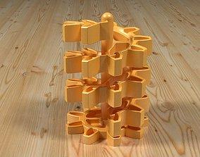 Gear wheel organizer 3D printable model