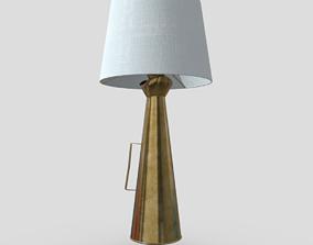 3D asset Megaphone Lamp