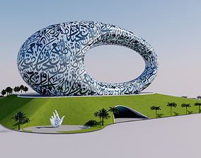 engineering Museum of the Future - Dubai - UAE 3D
