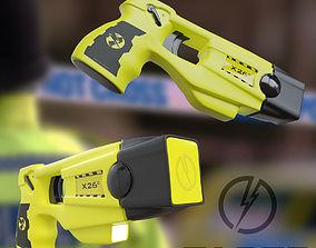 Taser - Yellow 3D model