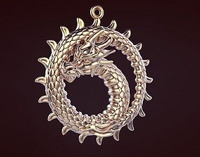 3D printable model Dragon ring neck