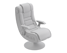 3D Non-Textured Gaming Chair