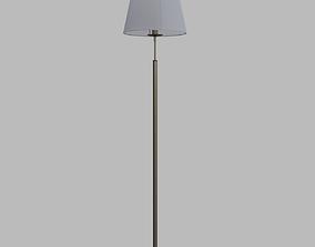 Bronze floor lamp 3D