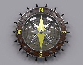 3D Stylized compass
