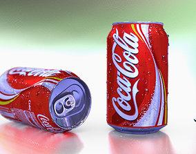 Coca cola can 3D asset VR / AR ready PBR