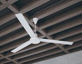 3D Simple Ceiling Fan