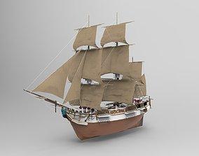 3D adventure Sailing Ship
