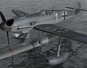 Messerschmitt Bf-109W-2 3D model
