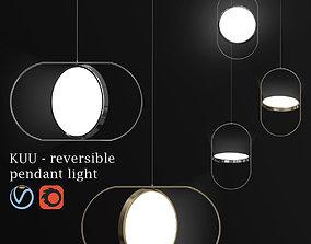 3D KUU reversible pendant light