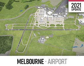 Melbourne Airport 3D model