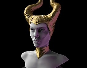 3D printable model Maleficent Head Planter
