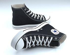 Converse Shoes 3D model clothing