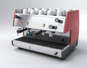 coffee La Pavoni BAR-T 3D model