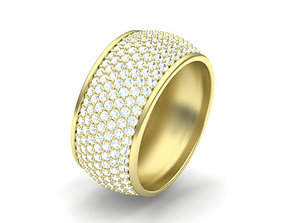 Jewelry Pave ring 3D print model