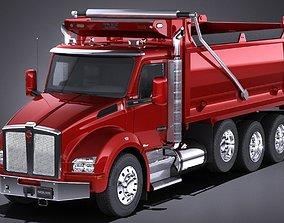 Kenworth T880 2017 Tipper Truck 3D model