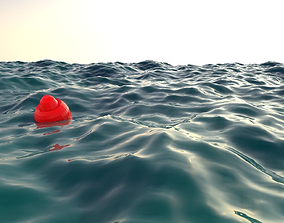 3D asset Realistic sea