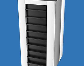 Server or mainframe computer cabinet 3D