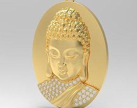 3D print model Budha diamond pendant