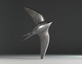 3D model Shiny Swallow - Decoration
