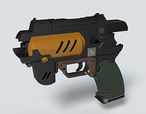 Spacers choice Light pistol from the 3D printable model 3
