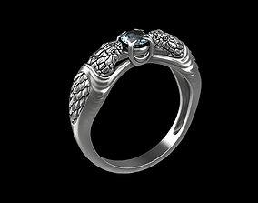 3D print model Snake ring v2