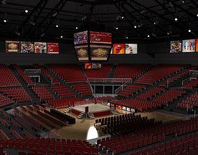 sports Boxing Arena 3D model