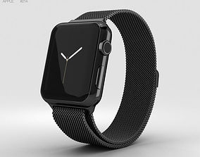 3D Apple Watch Series 2 38mm Space Black Stainless Steel 1