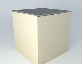 3D model End Table IBIZA beige houses the world