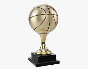 Trophy ball basketball 3D