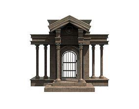 Roman Door 3D model