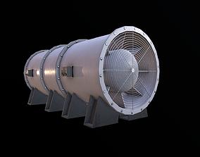 Ventilation Fan 3D asset