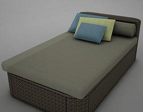 sofa chair 1 modern tropic 3D model