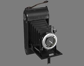 Photocamera Voigtlander Bessa 3D model