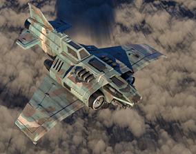 3D model Warhammer Thunderbolt Heavy Fighter