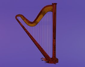 Arpa Harp 3D model
