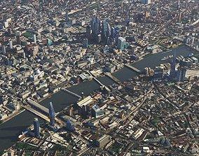 capital 3D London city