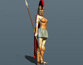 Girl from Sparta 3D printable model