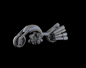 motorcycle 3D model VR / AR ready