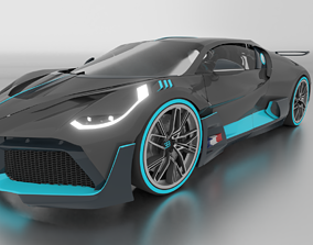 3D Bugatti Divo