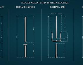 3D printable model Weapons from Teenage Mutant Ninja