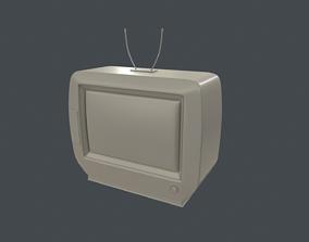 3D model Old School TV Base Mesh