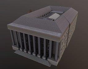 3D model realtime Palais de la Bourse - Nantes