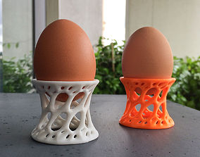 Eggcup in voronoi style 3D print model