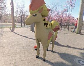 3D asset Pokemon ponyta