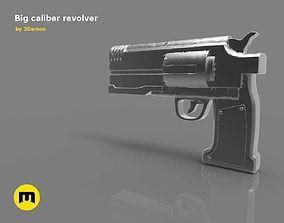 3D model Big caliber revolver