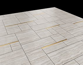 Granite Floor Polygonal Masonry 3D model